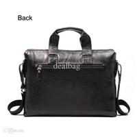 Wholesale New Men Business Handbag Genuine Leather Bag Men s Briefcase Handbag Shoulder bag Men Messenger Bag Men s Travel Bag