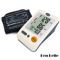 Wholesale Ben Belle Automatic Digital Arm Blood Pressure Heart Monitor Large LCD Memory Groups WHO indicator