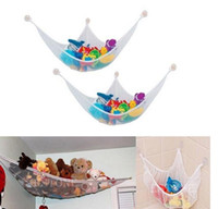 Wholesale New Creative Hanging Storage Children s Toys Gift Collection Housed Polyester Mesh hammock Housekeeping Organization