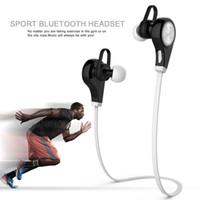 apples vision - My vision Q8 Headsets Wireless Bluetooth Stereo Headset Earphone Handsfree in ear headphones Q8 Headphone Blue