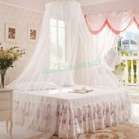 Wholesale New Arrival Princess Bed Canopy Net On Magnets Insect Fly Mesh Bedroom Mosquito Curtain Bed Netting US51