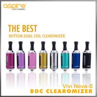 Cheap Replaceable Vivi Nova S Glassomizer Best 3.5ml Plastic Tube Metal Body E Cig Cartomizer