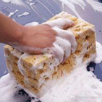 Wholesale Honeycomb Coralline Car Sponge Macroporous Cleaning Washing Spongia Cleaner Wiper
