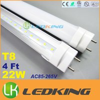 20w puerto rico - to USA Puerto Rico G13 T8 LED Tube W ft mm m LED fluorescent Bright Light LM AC85 V CE RoHS FCC ETL SAA