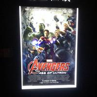 backlit light box - Illuminated Backlit Poster Light Box LED Backlit Movie Poster Frame A1Size