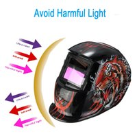 automatic welding helmet - Rampage Electrical Welding Helmet Solar Energy Automatic Darkening Skull Protective Mask Auto Darkening welding Helmets PIT_106