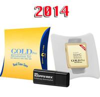 Wholesale 2014 Genuine Gold Pro Game Flash Card reader cartridge compatible V9 V1 For DS DS XL DSi DSL DS DHL FEDEX