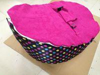 Wholesale pink dots baby bean bag chair blue seat doomoo beanbag sleeping sofa beds
