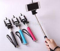 Wholesale Extendable Selfie Stick Remote Tripod Handheld for Monopod Bluetooth iPhone Android phone