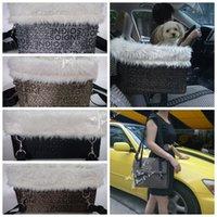 Wholesale foldable pet dog car seat carrier pet vehicle carrier bag pet cage