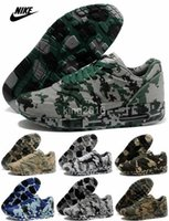camouflage fabric - Nike Air Max Running Shoes For Men Camouflage Airmax Sports Shoes Discount High Quality Brands Trainers Outdoor Eur Free Shippin
