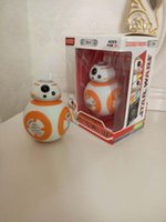 Wholesale Star Wars The Force Awakening BB8 BB Droid Robot Action Figure quot Toy Model Poly Music Light Toys with package by