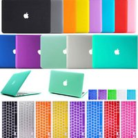 Wholesale Laptop PC Hard Shell Full Protective Case For Macbook Air inch Anti Glare Matte and Clear Crystal Tpye Cover