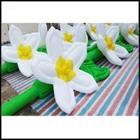 Wholesale m Hot sale LED inflatable flower chain for wedding decoration