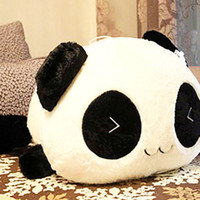 Wholesale LS4G NEW Cute Plush Doll Toy Stuffed Animal Panda Pillow Quality Bolster Gift cm
