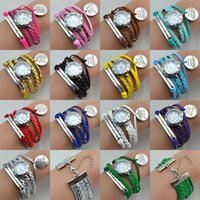 american fashion watches - Hot Infinity Watches Fashion Infinity Bracelet Watches Lady Charms Bracelet Watch Never Give Up Charms Wrist Watches Mix Colors
