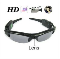 Wholesale 720P HD Mini Glasses Spy Hidden Camera Glasses Eyewear DVR Video Recorder Cam With Retail Packaging