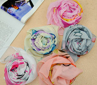 Wholesale Hot New Chiffon Scarves Shawl Alphabet Flowers Lady Popular Chiffon Scarves Scarf cm color