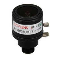 Wholesale 3MP F1 quot mm M12 Mount CCTV Manual Varifocal Lens Fixed IRIS
