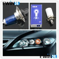 Wholesale Auto Car Front Head Light Headlight Blue Clear Glass H7 V W Lamp Factory Price