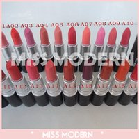 Wholesale Exclusive HOT Makeup Luster Lipstick Frost Lipstick Matte Lipstick colors Ruby woo candy yum yum