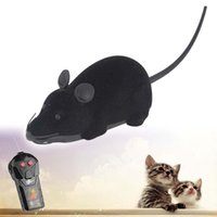 Wholesale Pet Wireless Remote Control Rat Mouse Toy Moving Mouse For Cat Playing Chew A puppy toys outdoor mouse toy toy cat