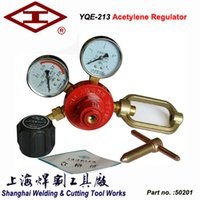 acetylene gas regulator - in Flame cutting YQE Acetylene pressure regulator gas cylinder high pressure reducing valve acetylene gas pressure regulating reducer