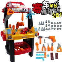 Wholesale Children s Car Repair Station House Training Children s Educational Toys Toy Disassembly Maintenance Station Large
