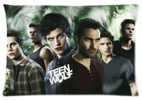 best case cooling - Teen Wolf TV Custom Best Decorative Cool Skull Throw Pillow Cases Standard For Size x60 cm Two sides U2