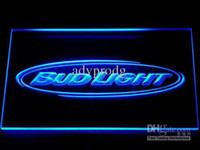 bar sign lights - DHL Colors On off Switch Bud Light Bar Beer LED Neon Light Signs Wholeseller Dropship