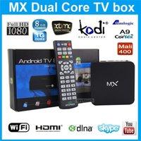 Cheap Original G-BOX Midnight MX2 R28 Matricom Dual Core Kodi14.2 Android Smart MX MX2 TV BOX Media Player MX Amlogic 8726 MX Dual Core 1GB 8GB 10