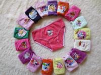 girls panties - EMS Free Cartoon Underwear Frozen Cat KT Mouse Princess Cotton Children s Briefs Boxers Girls Cute Underpants Panties Brief A1749