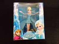 fashion dolls - Flying Frozen Doll Toys Princess Elsa Anna Dolls Party Fashion Electronic Toys Brinquedos Kids Christmas Gift