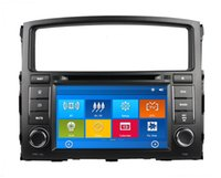 mitsubishi tv - HD din quot Car Radio Car DVD Player for Mitsubishi PAJERO V97 V93 With GPS Navigation Bluetooth IPOD TV SWC USB AUX IN Can bus box