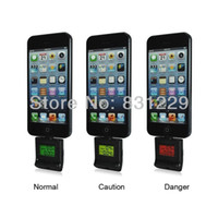 Cheap Wholesale-Free shipping new 2015 high quality ipega alcohol tester for iphone 5 with color backlight wholesale