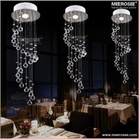 Wholesale Hot selling Crystal Ceiling Light Fixture Lamp Spiral Crystal Lamp Cristal Lustre Hallway Corridor Aisle Porch bedroom Light