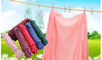 Wholesale 2PC Bold Nylon Portable Clothesline Windproof Non Slip Laundry Rope M PC