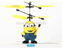 rc bird - Male Minions Pegman Ugrate Classic Electric Electronic Toys RC Flying Fly Bird Helicopter UFO Ball Ar drone Drone For Kids