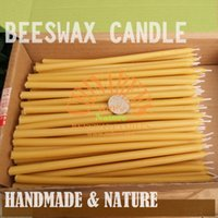 beeswax candle wick - 50pcs Handmade All Natural Beeswax Candles x0 cm Stick Votive Candles Cotton Wicks