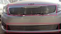 Wholesale High quality stainless steel Front Grille Around Trim Racing Grills Trim For KIA Optima K5