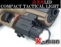 pistols - Hunting Cree Led Flashlight Torch Waterproof Shock Resistant for pistol gun QD Weaver Picatinny mount rail