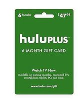 send - 2015 hot selling Hulu Plus month month USA Gift Subscription Gift Card send code NO Delivery card