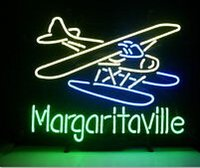 airlines sign - Margaritaville Airplane Neon Sign Handcrafted Custom Real Glass tube Display Neon Signs Airlines Advertising Commercial Sign quot X14 quot