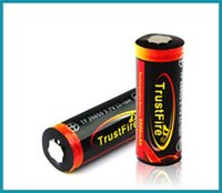 Wholesale Rechargeable Trust fire li ion battery mah for mech mod trustfire v high discharge rate battery cells also VS TR