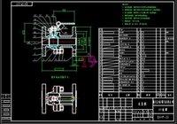 bell drawings - Pneumatic valve DN250 drawings Full Machining drawings bell