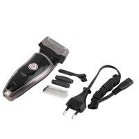 Wholesale Men s Rechargeable Cordless Electric Razor Shaver Double Edge Trimmer EU Plug