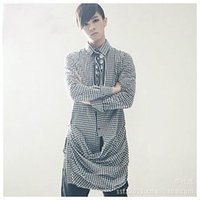 alternative treatment - 2013 new Korean fashion personality hem alternative treatment plaid long sleeved shirt a men s shirts