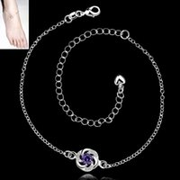 ankle bracelet length - silver pulseras pie barefoot sandals ankle bracelets for women cm length jewelry rhinestone slave anklet