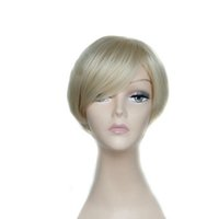Cheap Cheap Short Wigs factory price Synthetic Hair wigs men's wig hair with different color free ship