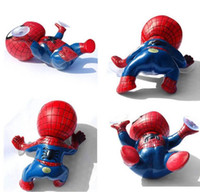 Wholesale New Arrive D Spider Style with Suckers Car Head Rear Windows Stickers Exterior Accessories Auto Ornament Doll Sticker for Car Windows
